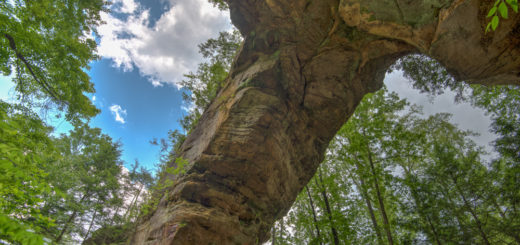 Gray's Arch Red River Gorge Kentucky Daniel Boone National Forest Boundless Journey Adventure